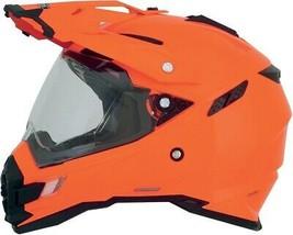 Afx FX-41DS Solid Helmet Orange Lg - $169.95