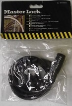 Master Lock 8103DMLP Bike Lock With 4-1/4' Cable And 2 Keys - $5.94
