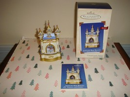 Hallmark 2002 Jewelry Box Ballet Treasures & Dreams 1st In Series Ornament - $14.99