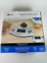 Digital Kitchen Scale 11lb Karry's - $19.39