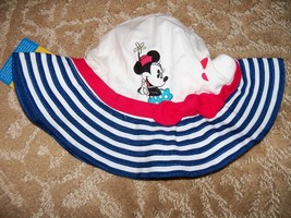 Disney Baby Minnie Mouse Hat Size 18/24 MONTH UPF 50+ NEW - $20.00