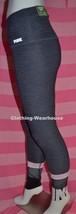 Victoria's Secret PINK Gray White Black Ultimate High Waist Mesh Leggings M NEW - $65.89