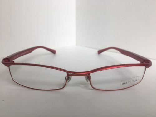 718efb3e717 New ALAIN MIKLI AL 0698 AL0698 15 54mm Red and 50 similar items