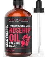 Aria Starr Rosehip Seed Oil Cold Pressed For Face, Skin, Acne Scars - 10... - $25.85