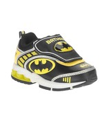 NEW DC Boys Toddler Child Batman Light Up Sneakers Size 7 - £16.10 GBP