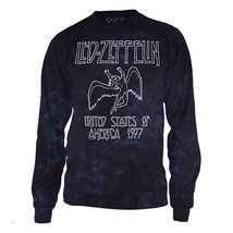 Led Zeppelin-Icarus-USA Tour 1977-Large Longsleeve Tie Dye T-shirt - $27.08