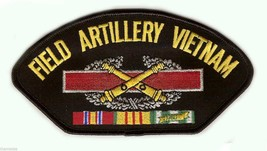 "FIELD ARTILLERY VIETNAM VETERAN EMBROIDERED 6"" MILITARY SERVICE RIBBON  ... - $17.14"