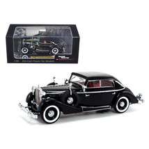 1937 Maybach SW38 Spohn 4 Doors Black Convertible 1/43 Diecast Car Model... - $40.27