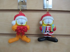 GARFIELD Ornaments - Set of 2 - New with Tags - $10.00