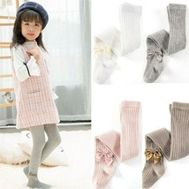 2018 Cute Winter Warm Kids Baby Girls Cotton Tights Solid Color Stocking... - $8.90+