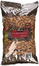 Kirkland Signature Supreme Whole Almonds, 3 Pound (Pack of 2) - $49.16