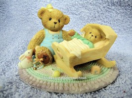 Cherished Teddies Carlton Margo and Baby 2003  NIB - $47.45