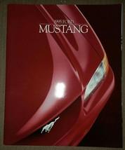 Original 1995 Ford Mustang And Mustang Gt Dealership Sales Brochure - $12.86