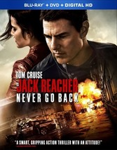 Jack Reacher 2-Never Go Back (Blu Ray/DVD W/Digital Hd)