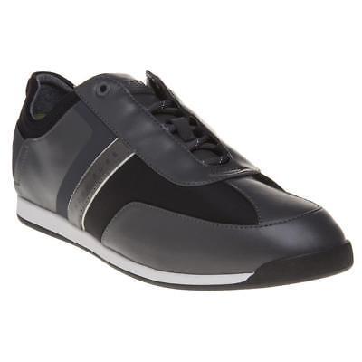 Hugo Boss Men's Premium Sport Profile Sneaker Shoes Maze Lowp Neo Dark Gray