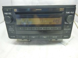 03-11 Toyota Yaris Cruiser Radio Cd Mp3 11808 86120-52530 RQV37 - $36.35
