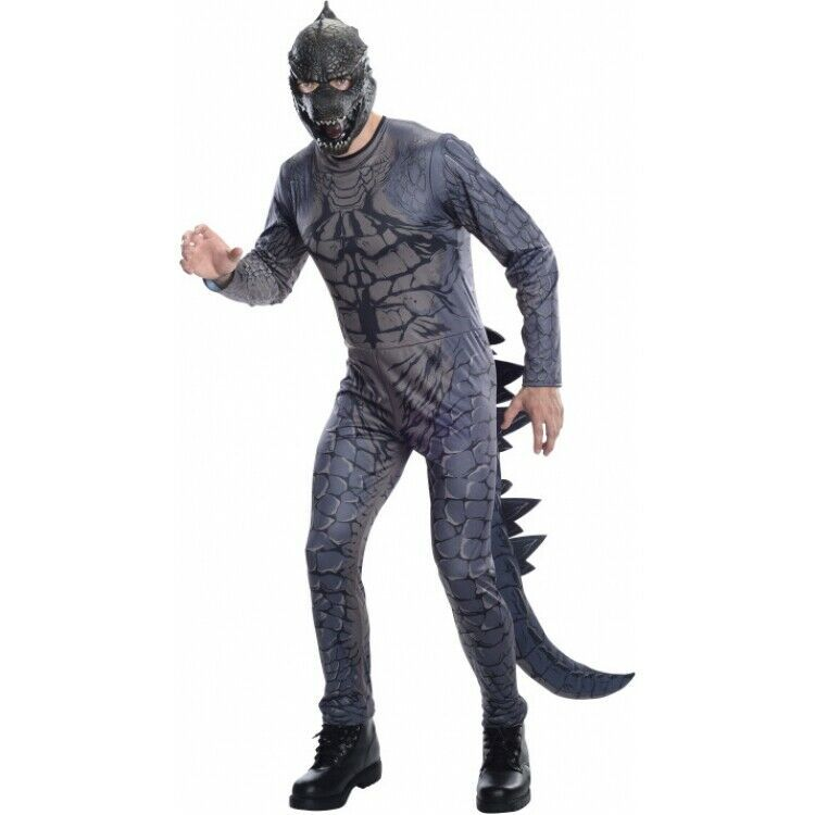 Rubie's Men's Godzilla Adult Jumpsuit Costume with Mask