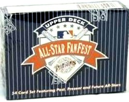 1992 Upper Deck All-Star Fanfest 54 Card Set Featuring Post,Present,Futu... - $19.79