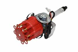 CHEVY SMALL BIG BLOCK Ready-To-Run RED Small Cap R2R Distributor W/45K Volt Coil image 4