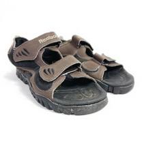 Reebok Sport Sandals Kids Size 2 Brown - $18.99
