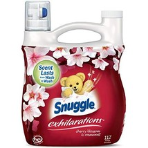 Snuggle Exhilarations Concentrated Fabric Softener Liquid, Cherry Blosso... - $28.95