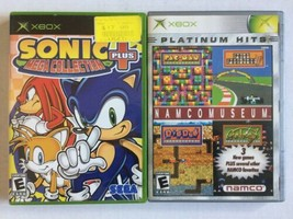 Sonic Mega Collection Plus & Namco Museum (Microsoft Xbox) - $10.88