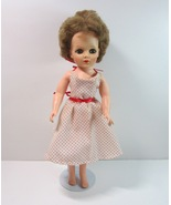 """Vintage 1950's EEGEE 15"""" Vinyl High Heeled Fashion Doll with Metal Doll ... - $17.99"""