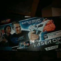 Nerf Laser Ops Pro Alphapoint 2-Pack Battle Ready out of the box. BlueTo... - $32.68