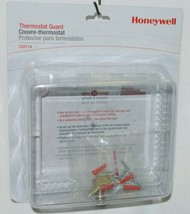Honeywell CG511A Thermostat Guard Hardware and Keys Color Clear image 1