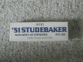 Vintage 51 Studebaker Avon Men's Wild Country After Shave Decanter With Box - $16.78