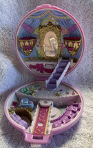 1993 Bluebird Polly Pocket Ballerina Grand Ballet Purple Flower Compact ... - $18.80