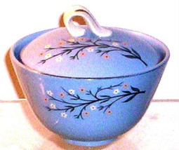 HOMER LAUGHLIN SKYLINE BLUEMONT SUGAR BOWL - $14.95
