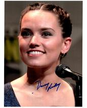 DAISY RIDLEY  Authentic Original  SIGNED AUTOGRAPHED 8X10 PHOTO w/COA 2458 - $85.00