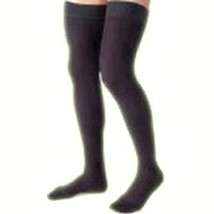 Women's Opaque Thigh High 15-20 mmHg Moderate Support Hose Size: Large, ... - $51.52