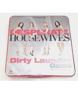 Desperate Housewives~ Dirty Laundry Game ~New Sealed Tin Box Board Game - $13.81