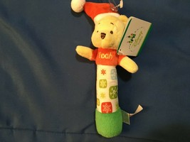 Disney Baby Winnie The Pooh Christmas Rattle *New w/Tags* - $7.99