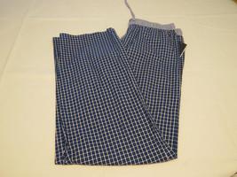 Men's Tommy Hilfiger TH lounge sleep pants 112037 Sapphire plaid S small 28-30 - $49.49
