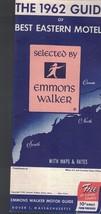 1962 Guide of Best Eastern Motels (Selected by Emmons Walker)   - $12.00