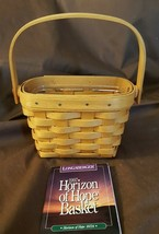 Longaberger 1997 Horizon Of Hope Basket With Plastic Protector - $18.00