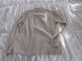 Claiborne , Mens Long Sleeve Sweater ,  Pull Over , XL , Light Tan - $34.65