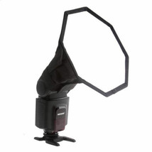 20cm Octagon Softbox Diffuser Flash For Canon Nikon Sony Pentax UK Seller - $19.10