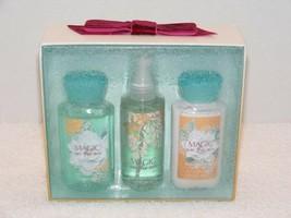 Nib Bath & Body Works Magic In The Air Fragrance Mist Lotion Shower Gel Gift Set - $34.99