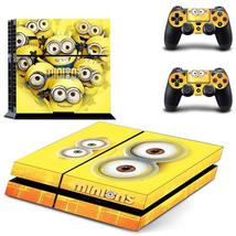 Minions ps4 decal sticker for console & controllers skin - $15.00