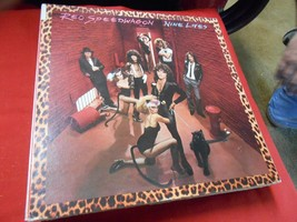 "Great Vintage LP Record- REO SPEEDWAGON ""Nine Lives"" - $8.50"