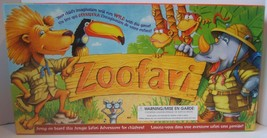 Zoofari Board Game For Children Ages 3-8 Near Complete-Missing Instructions - $19.21