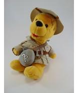 "Walt Disney World Plush Winnie the Pooh Scout Safari Bear Stuff Animal 8"" - $9.89"