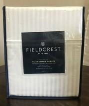 Fieldcrest Satin Stitch Damask Sheet Set Silver Springs Full 500 Thread ... - $49.49
