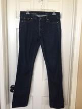 J.Crew Womens Matchstick Jeans Black Straight Skinny Leg Stretch Size 28... - $18.89