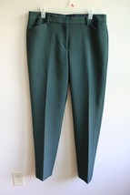 Talbots 12 Long Green Hampshire Ankle Pants - $26.60