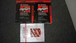 1992 toyota 4 runner 4 runner truck service shop repair manual set oem 92 - $237.37